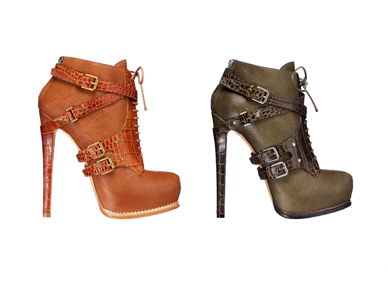 أحذية ديور لشتاء 2012