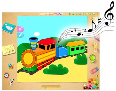 الاطفال ArcSoft PhotoStudio Paint 1.0.0.32 378.jpg