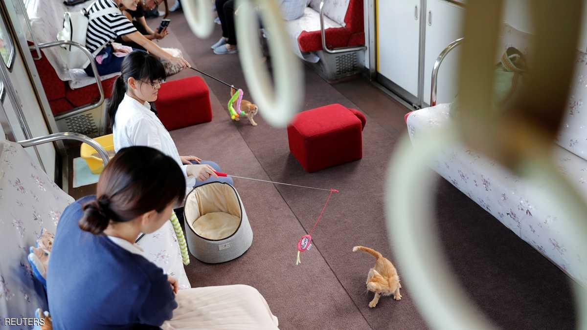 """اليابان.. """"ضالة"""" بالقطارات 1.jpg"""