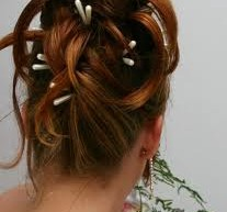 كيفية اختيار تسريحات شعر عروس 2012