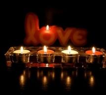 ديكور الشموع لليالٍ رومانسية دافئة