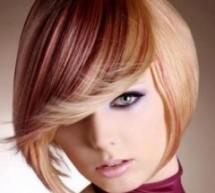 أحدث ألوان الشعر في 2012