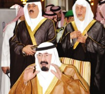 الملك يودع فقيد الوطن ولي العهد الأمير نايف بن عبد العزيز
