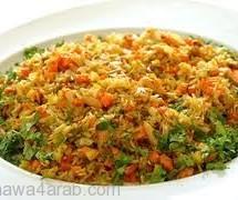 طبق أرز بالجزر لتقوية المناعة