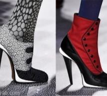 أحذية شتوية ماركة فندي للمرأة العصرية