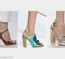 أحدث موديلات أحذية ربيع 2013