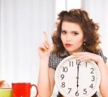 خسارة الوزن حسب وقت تناول الطعام