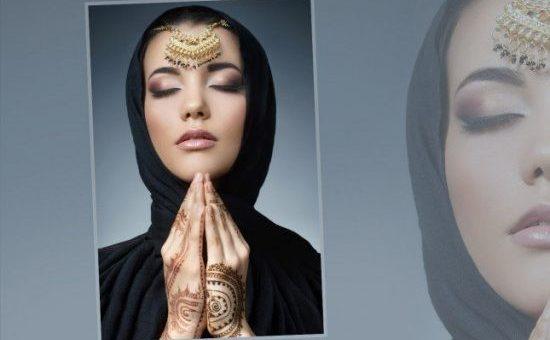 عليك برسم الحناء للحصول على اطلالة مميزة بالحجاب