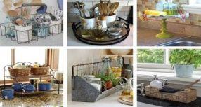 أفكار للحفاظ على ترتيب الأدوات في المطبخ