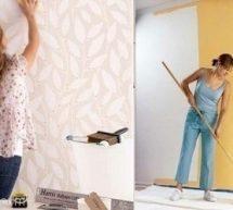 ورق الجدران أم الطلاء أيهما تختار لمنزلك؟