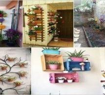 أفكار لتزيين جدران المنزل الخارجية بالنباتات