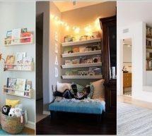أفكار لتخزين الكتب بطريقة عصرية في المنزل